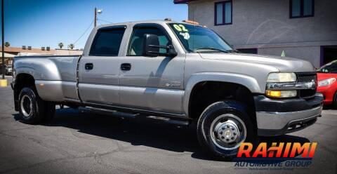 2002 Chevrolet Silverado 3500 for sale at Rahimi Automotive Group in Yuma AZ