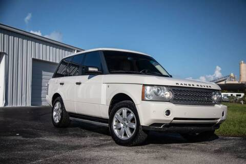 2008 Land Rover Range Rover for sale at Exquisite Auto in Sarasota FL