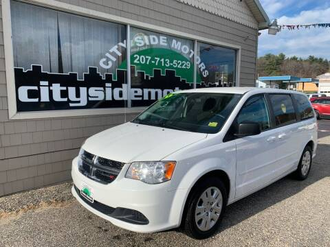 2015 Dodge Grand Caravan for sale at CITY SIDE MOTORS in Auburn ME