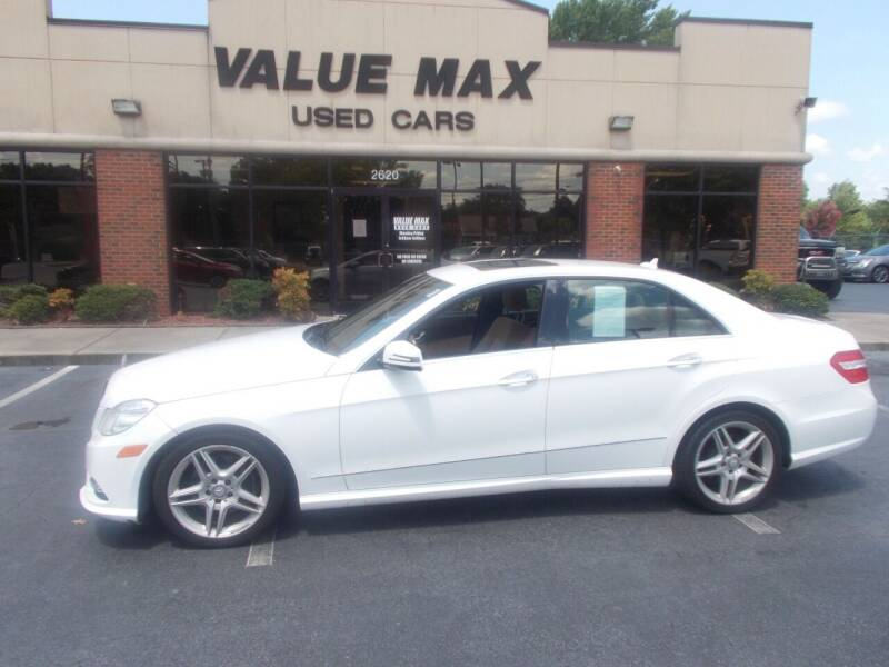 2013 Mercedes-Benz E-Class for sale at ValueMax Used Cars in Greenville NC