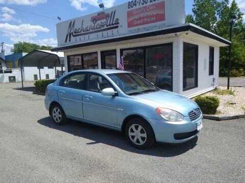 2007 Hyundai Accent for sale at Mechanicsville Auto Sales in Mechanicsville VA