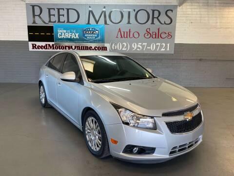 2012 Chevrolet Cruze for sale at REED MOTORS LLC in Phoenix AZ
