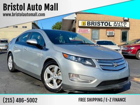 2012 Chevrolet Volt for sale at Bristol Auto Mall in Levittown PA