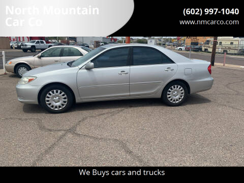 2002 Toyota Camry for sale at North Mountain Car Co in Phoenix AZ