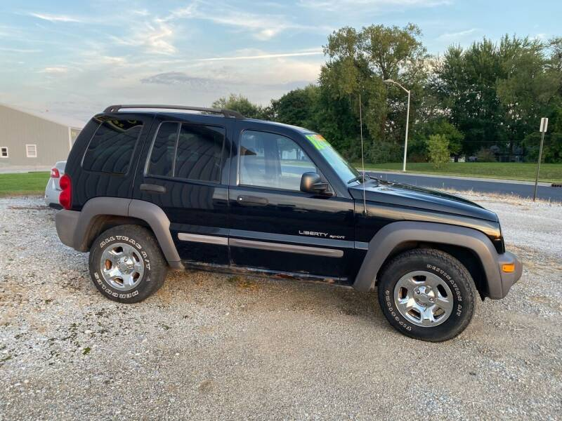 2002 Jeep Liberty for sale at AutoWorx Sales in Columbia City IN