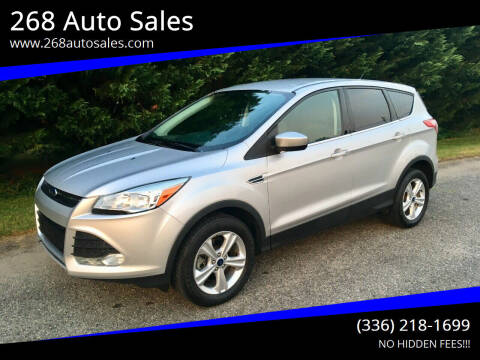 2014 Ford Escape for sale at 268 Auto Sales in Dobson NC