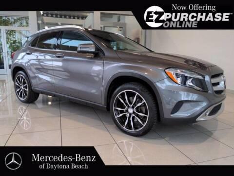 2017 Mercedes-Benz GLA for sale at Mercedes-Benz of Daytona Beach in Daytona Beach FL