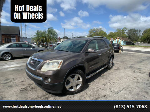 2008 GMC Acadia for sale at Hot Deals On Wheels in Tampa FL