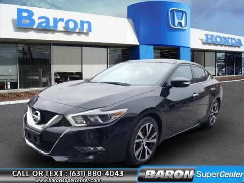 2017 Nissan Maxima for sale at Baron Super Center in Patchogue NY