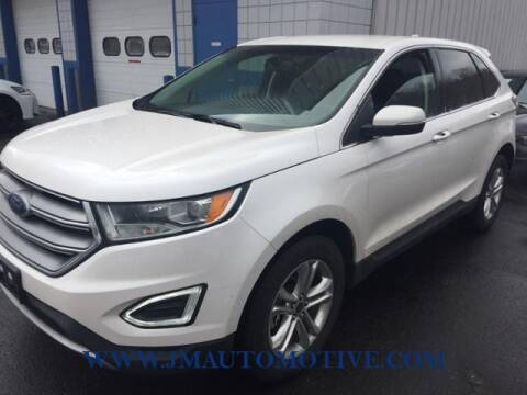 2017 Ford Edge for sale at J & M Automotive in Naugatuck CT