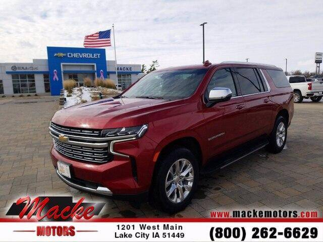 2021 Chevrolet Suburban for sale in Lake City, IA