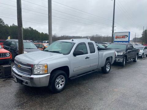 2013 Chevrolet Silverado 1500 for sale at Billy Ballew Motorsports in Dawsonville GA