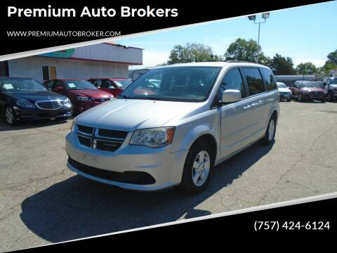 2012 Dodge Grand Caravan for sale at Premium Auto Brokers in Virginia Beach VA
