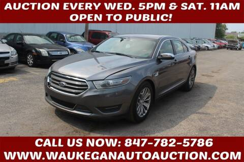 2014 Ford Taurus for sale at Waukegan Auto Auction in Waukegan IL