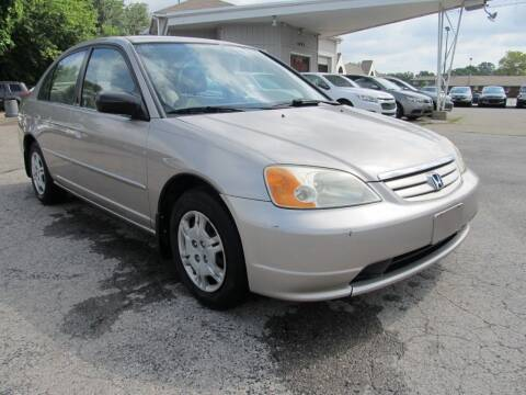 2002 Honda Civic for sale at St. Mary Auto Sales in Hilliard OH