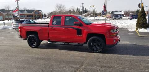 2017 Chevrolet Silverado 1500 for sale at SINDIC MOTORCARS INC in Muskego WI