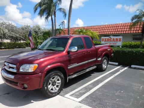 2003 Toyota Tundra for sale at Uzdcarz Inc. in Pompano Beach FL