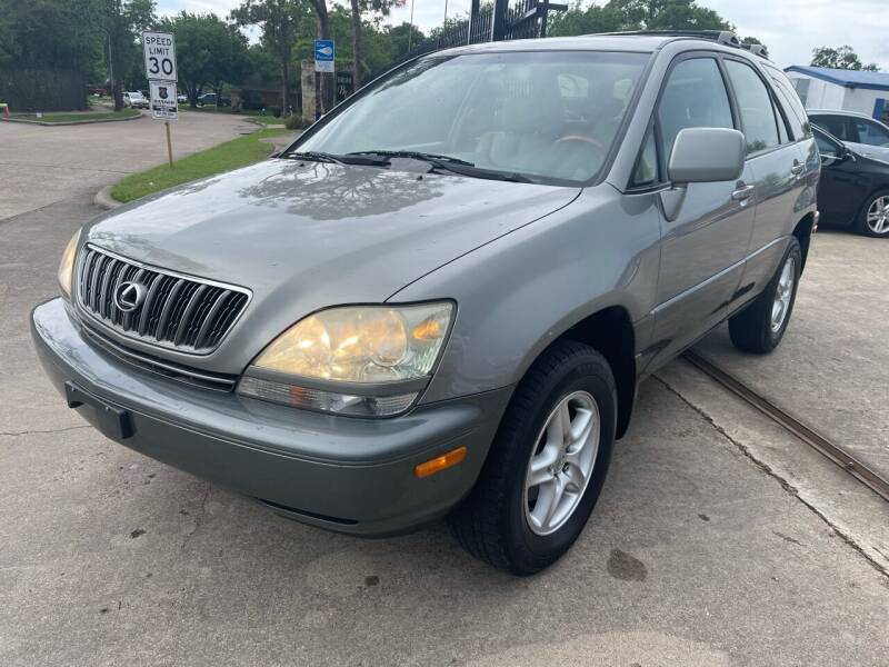 2001 Lexus RX 300 for sale at Newsed Auto in Houston TX