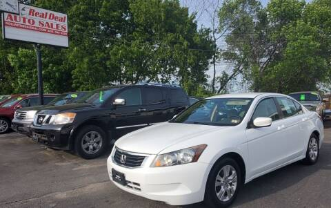 2010 Honda Accord for sale at Real Deal Auto Sales in Manchester NH