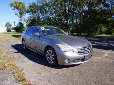 2012 Infiniti M37 for sale at BLUE RIBBON MOTORS in Baton Rouge LA