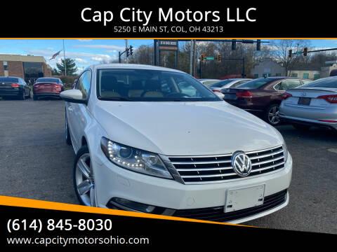 2013 Volkswagen CC for sale at Cap City Motors LLC in Columbus OH