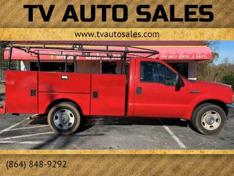 2005 Ford F-350 Super Duty for sale at TV Auto Sales in Greer SC
