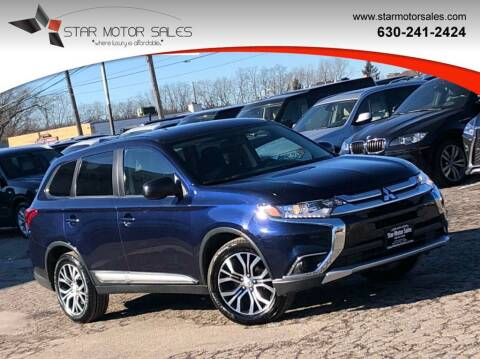 2018 Mitsubishi Outlander for sale at Star Motor Sales in Downers Grove IL