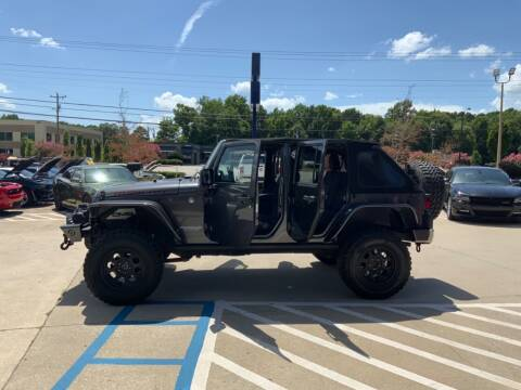 2014 Jeep Wrangler Unlimited for sale at A & K Auto Sales in Mauldin SC