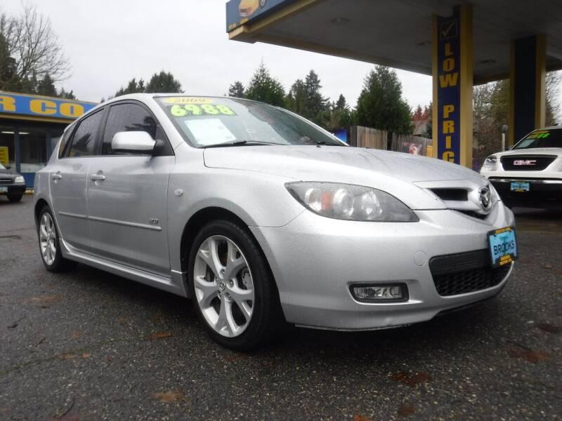 2009 Mazda MAZDA3 for sale at Brooks Motor Company, Inc in Milwaukie OR