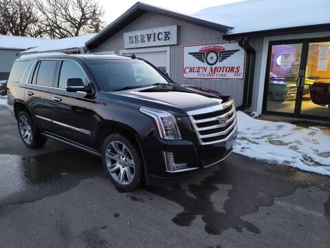 2015 Cadillac Escalade for sale at CRUZ'N MOTORS in Spirit Lake IA