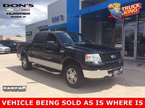 2006 Ford F-150 for sale at DON'S CHEVY, BUICK-GMC & CADILLAC in Wauseon OH