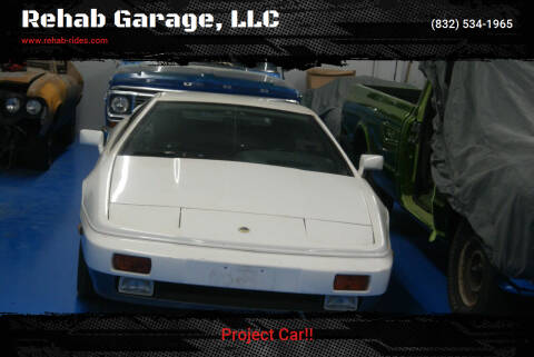 1988 Lotus Esprit for sale at Rehab Garage, LLC in Tomball TX