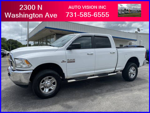 2017 RAM Ram Pickup 2500 for sale at Auto Vision Inc. in Brownsville TN