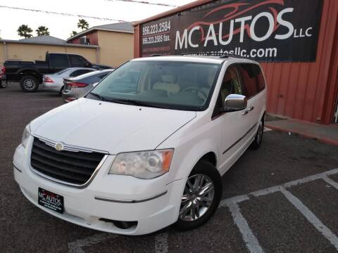 2010 Chrysler Town and Country for sale at MC Autos LLC in Pharr TX