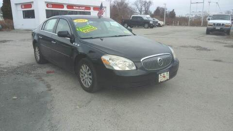 2007 Buick Lucerne for sale at A&A AUTO in Fairhaven MA