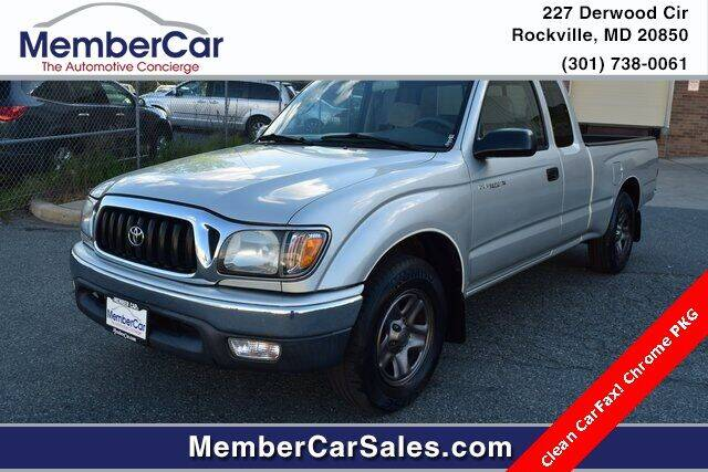 2003 Toyota Tacoma for sale at MemberCar in Rockville MD