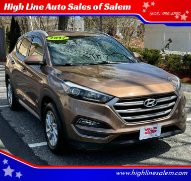 2017 Hyundai Tucson for sale at High Line Auto Sales of Salem in Salem NH