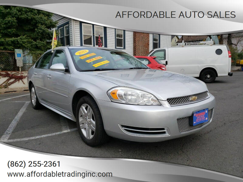 2013 Chevrolet Impala for sale at Affordable Auto Sales in Irvington NJ