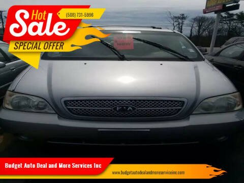 2004 Kia Sedona for sale at Budget Auto Deal and More Services Inc in Worcester MA