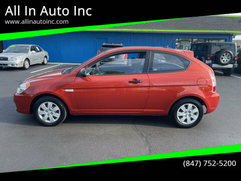 2009 Hyundai Accent for sale at All In Auto Inc in Palatine IL