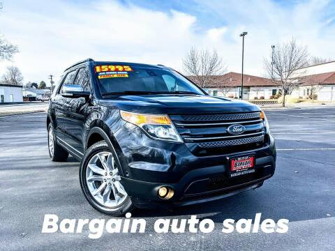 2013 Ford Explorer for sale at Bargain Auto Sales in Garden City ID