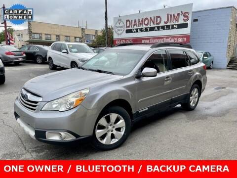2011 Subaru Outback for sale at Diamond Jim's West Allis in West Allis WI