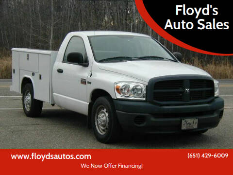 2009 Dodge Ram Pickup 2500 for sale at Floyd's Auto Sales in Stillwater MN