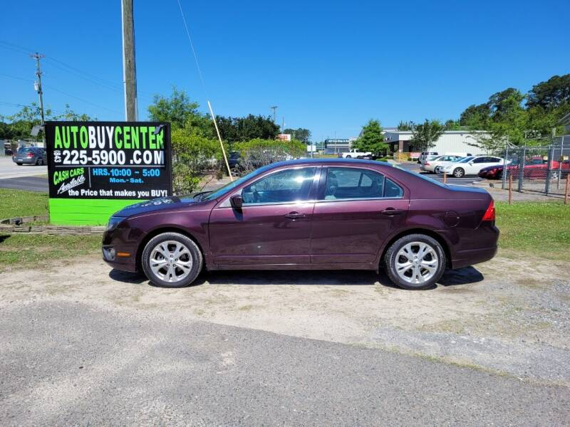 2012 Ford Fusion for sale at AutoBuyCenter.com in Summerville SC