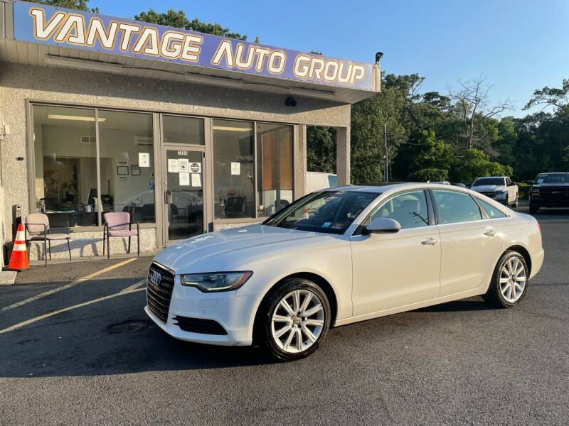 2013 Audi A6 for sale at Vantage Auto Group in Brick NJ