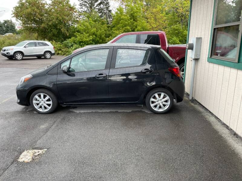 2015 Toyota Yaris for sale at Mark Regan Auto Sales in Oswego NY