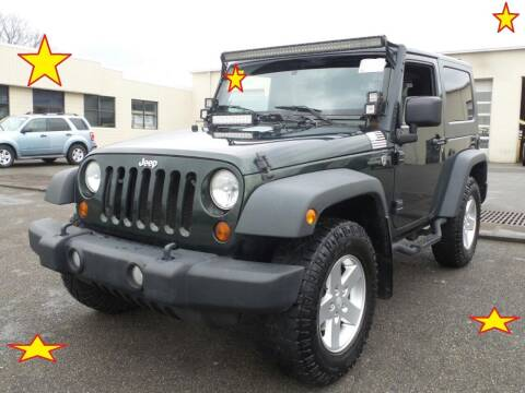 2010 Jeep Wrangler for sale at L & S AUTO BROKERS in Fredericksburg VA
