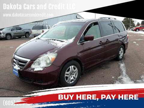 2007 Honda Odyssey for sale at Dakota Cars and Credit LLC in Sioux Falls SD