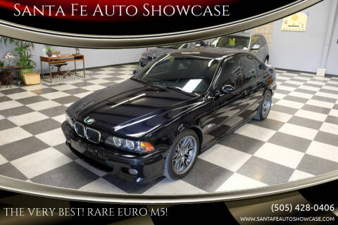2001 BMW Euro M5 for sale at Santa Fe Auto Showcase in Santa Fe NM