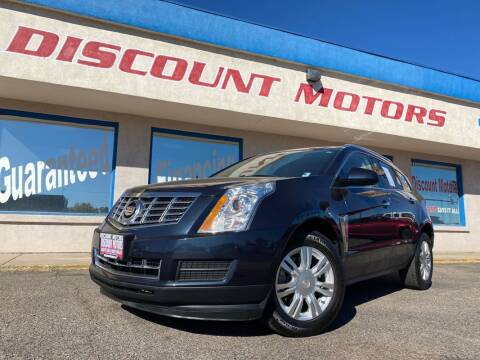 2016 Cadillac SRX for sale at Discount Motors in Pueblo CO
